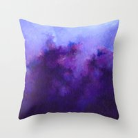 Heavenly Heather Throw Pillow