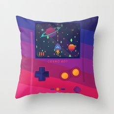 COSMO BOY Throw Pillow