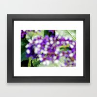If Clouds Had Color Framed Art Print