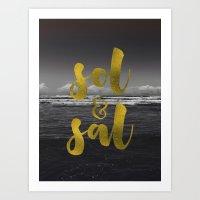 Sol & Sal Art Print