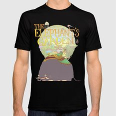 The Elephant's Garden - Version 2 Black Mens Fitted Tee SMALL