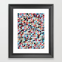 Quilted Patchwork Framed Art Print