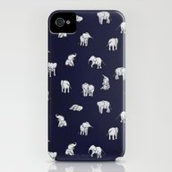 Indian Baby Elephants In… iPhone (4, 4s) Slim Case