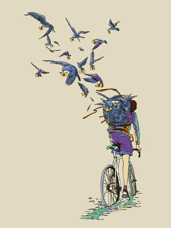TweetJourney Art Print