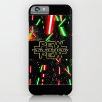 Pew Pew poster iPhone 6 Slim Case