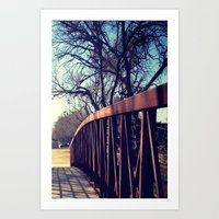 To The Other Side Art Print