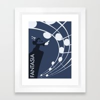Fantasia Framed Art Print