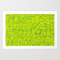 #MoleskineDaily_45 Art Print