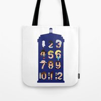 The Number Who Tote Bag
