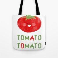 Tomato-Tomato Tote Bag