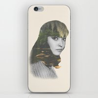 Anna Karina Nature Portr… iPhone & iPod Skin