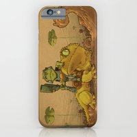 iPhone Cases featuring Gecko Rider by Ketsuo Tategami