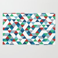 Triangles #3 Rug