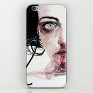 iPhone & iPod Skin featuring Coldberry by Agnes-cecile