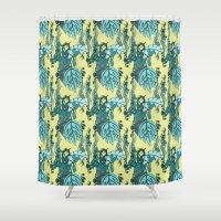 Jamaican Botanicals - Se… Shower Curtain