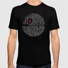 Fish Star Black SMALL Mens Fitted Tee