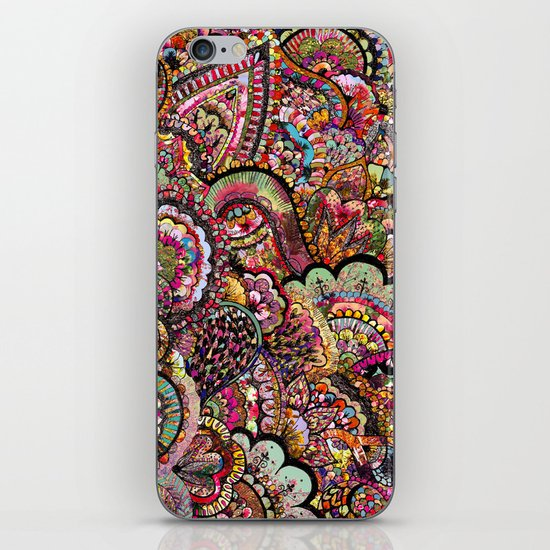 Her Hair - Les Fleur Edition iPhone & iPod Skin