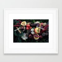 Garland Framed Art Print