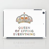 Her Daily Motivation iPad Case