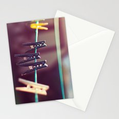 Pegs Stationery Cards