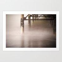 ocean mist Art Print