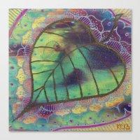 Bodhi Leaf Canvas Print