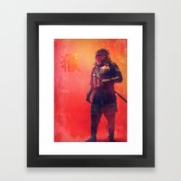 Mystical Monkey Framed Art Print