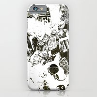 iPhone & iPod Case featuring Who by Eternal