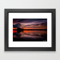 Come Sit By My Side... Framed Art Print