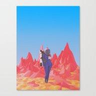 Cosmonaut.2. Canvas Print