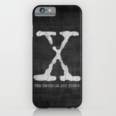 X-Files Poster iPhone 6 Slim Case