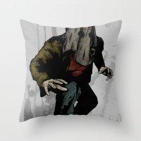 Vigilante #6 Throw Pillow
