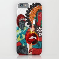 iPhone & iPod Case featuring Native Love  by Chris Tobar Art
