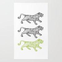 Three Tigers Rug