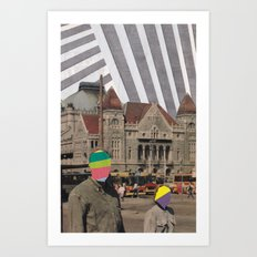 travel weary Art Print