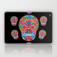A really colourful skull Laptop & iPad Skin