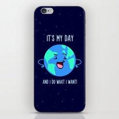 Earth Day iPhone & iPod Skin
