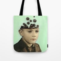 Fur Brains - Hand Painte… Tote Bag