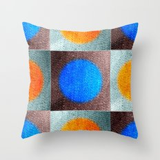 Patches 2 Throw Pillow