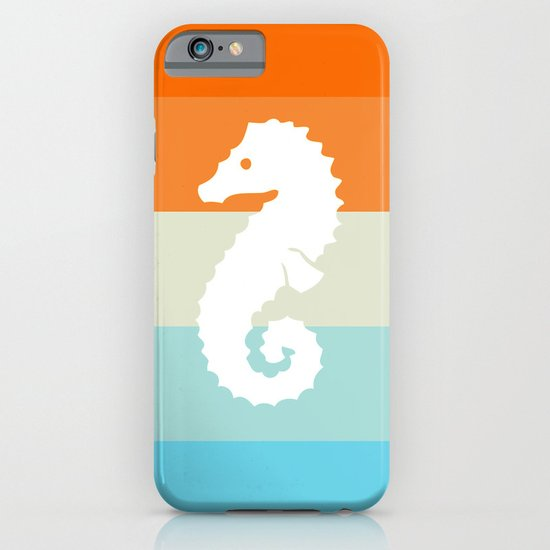 Out At Sea Series - Seahorse Sunset iPhone & iPod Case