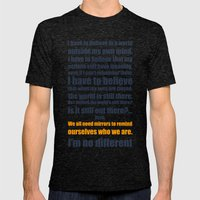 We All Need Mirrors Mens Fitted Tee Tri-Black SMALL