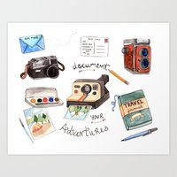 Document Your Adventures Art Print