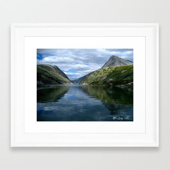 Rondane - Rondevannet  Norway Framed Art Print
