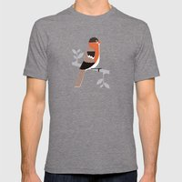 Raitán (Asturian Robin) Mens Fitted Tee Tri-Grey SMALL