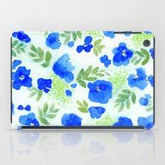 Floret (Blue) iPad Case