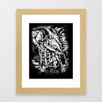GOREHOUND Framed Art Print