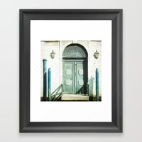 The Door - Venice Framed Art Print