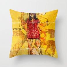 Vintage 76 (motion) Throw Pillow