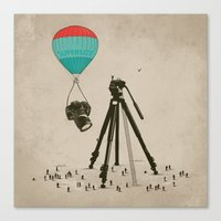 Supersize Cam Attraction Canvas Print