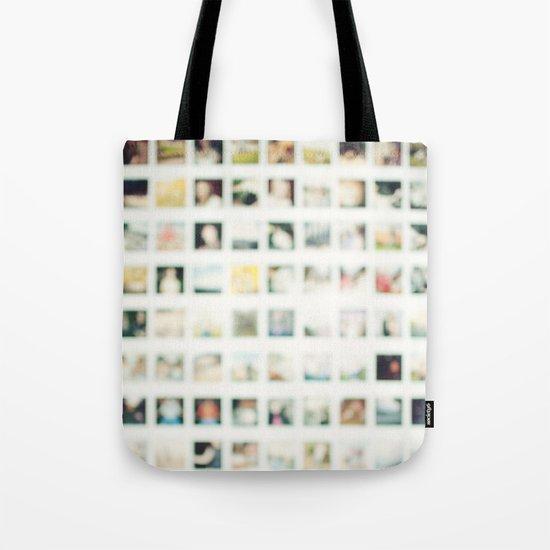Polaroid Wall Tote Bag